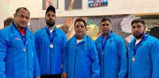 Indian powerlifting team won 2 gold and 2 silver medals