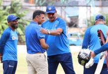 rahul dravid spends time with indian players in bengaluru