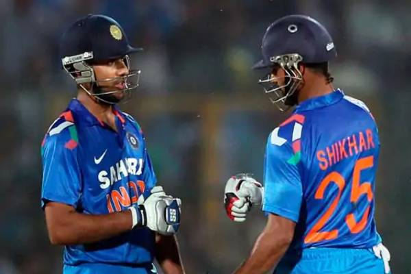 Rohit sharma secretly records shikhar dhawan talking to himself on flight