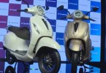 Bajaj Auto Chetak Scooter launched in india