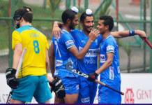 India reached the final of Johor Cup after defeating Australia 5-1