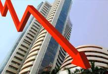 Stock market fell due to selling in Infosys