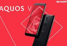 Sharp launches new smartphoneAquos VSpecifications