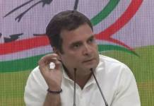 rahul terms demonstration terror attack