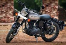 royal enfield classic 350 with single channel abs launched