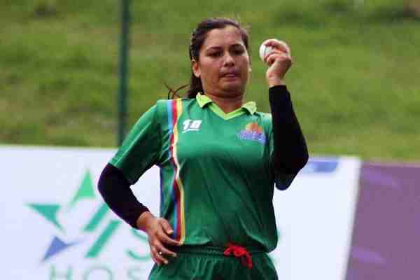 Nepal cricketer anjali chand takes 6 wickets without giving run