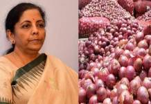 Onion prices start declining says Nirmala sitharaman