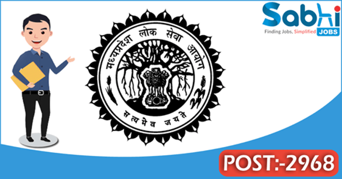 MPPSC recruitment 2968 Assistant Professor