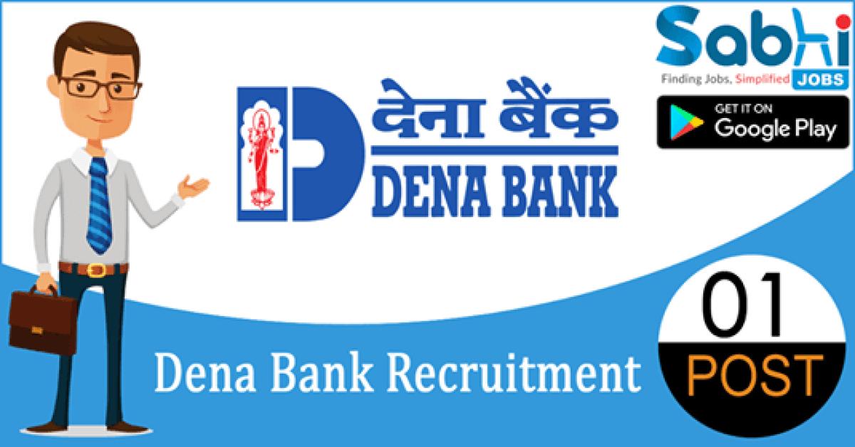 Dena Bank recruitment 01 FLC Counselors