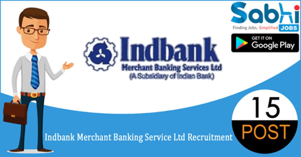 Indbank recruitment 15 Secretarial Officer – Trainee, Dealer