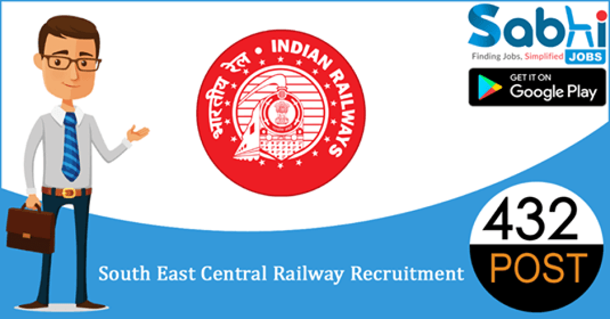 South East Central Railway recruitment 432 Apprentice