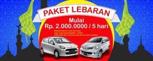 Rental Mobil Paket Lebaran 2019