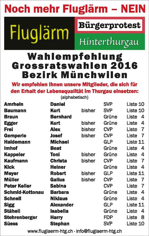 Wahlempfehlung