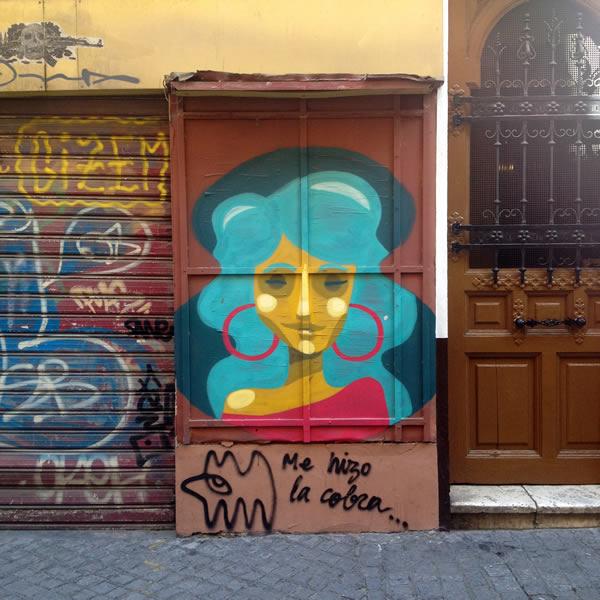 Hausfassade Sevilla
