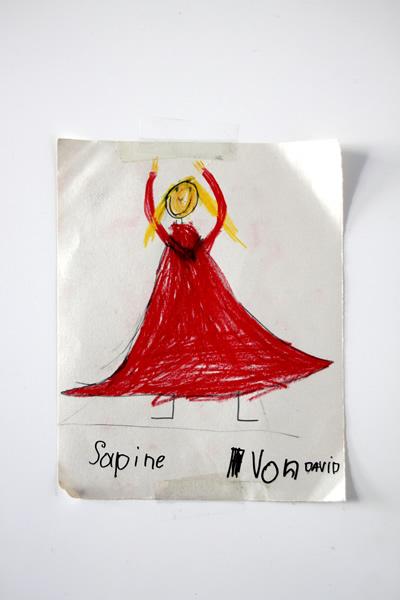 "Semblanza Tanzstudios - Kinderbild Flamencotänzerin ""Sapine"""