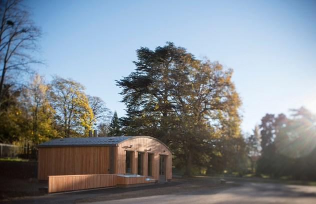 Chaufferie bois / Chamagnieu/ Architecture Linda Aydostian
