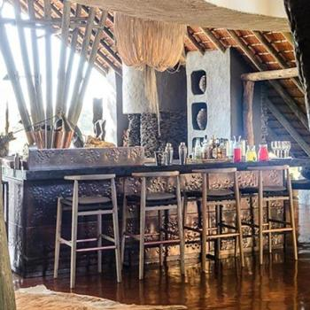 Singita Boulders Lodge Accommodation Bar