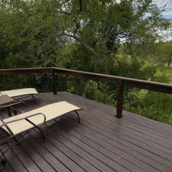 Elephant Plains Game Lodge Deck View