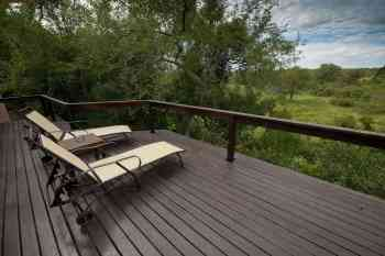 Elephant Plains Game Lodge Luxury Deck View