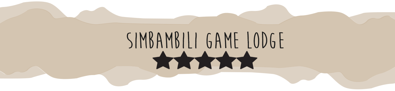 Simbambili Game Lodge Header