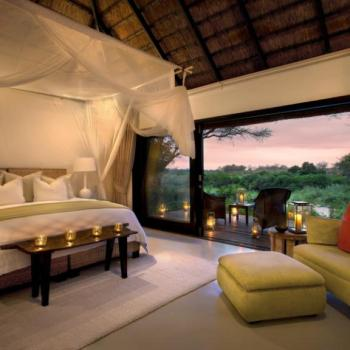 Lion Sands Game Reserve Honeymoon Accommodation River Lodge Bedroom