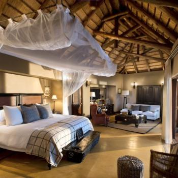 Lion Sands Game Reserve Honeymoon Accommodations Tinga Lodge Bedroom