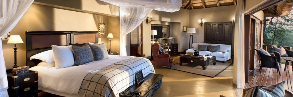 Lion Sands Game Reserve Honeymoon Tinga Suite
