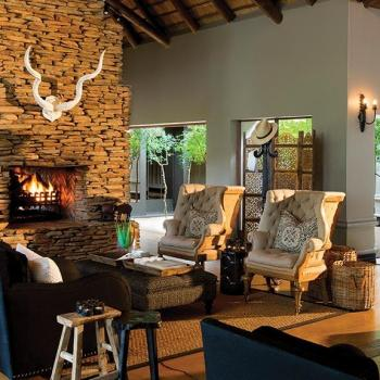 Lion Sands Tinga Lodge Accommodation Lounge