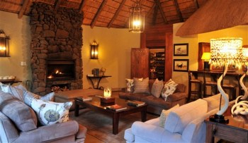 Savanna Private Game Lodge Main Lodge Lounge Area