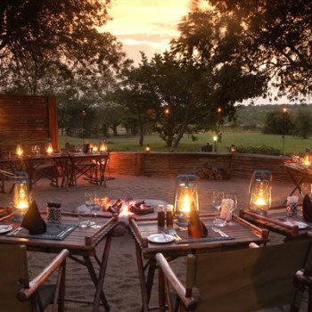 Savanna Private Game Lodge Boma