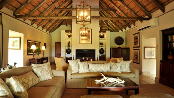 Savanna Private Game Lodge Savanna Suite Lounge