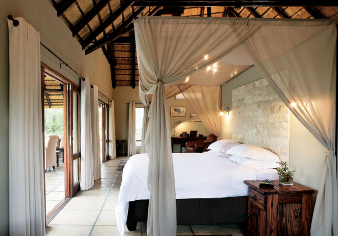 Arathusa Safari Lodge Luxury Room Bedroom