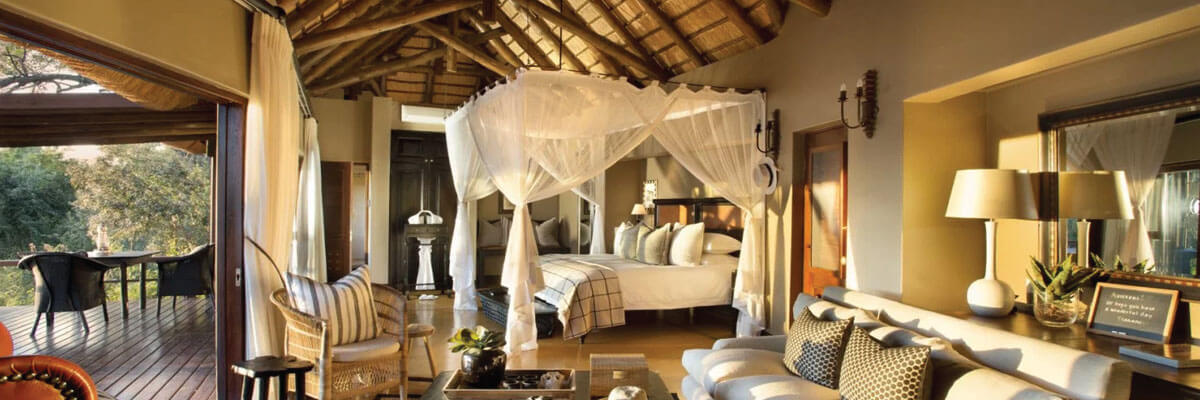 Lion Sands Game Reserve Tinga Lodge Suite Interior