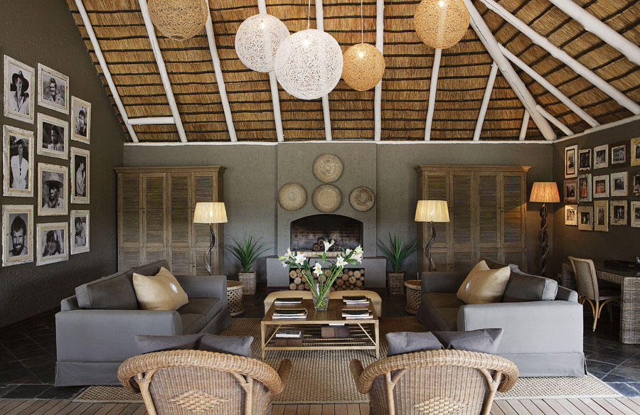Londolozi Founders Camp Living Room