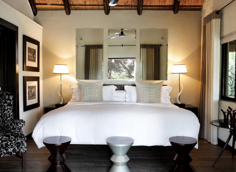 Londolozi Varty Camp Chalet Bedroom