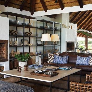Londolozi Varty Camp Accommodation Lounge Area