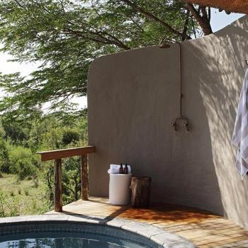 Londolozi Varty Camp Accommodation Outside Shower