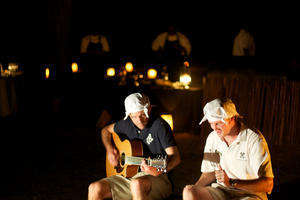 Londolozi Varty Camp Camp Fire