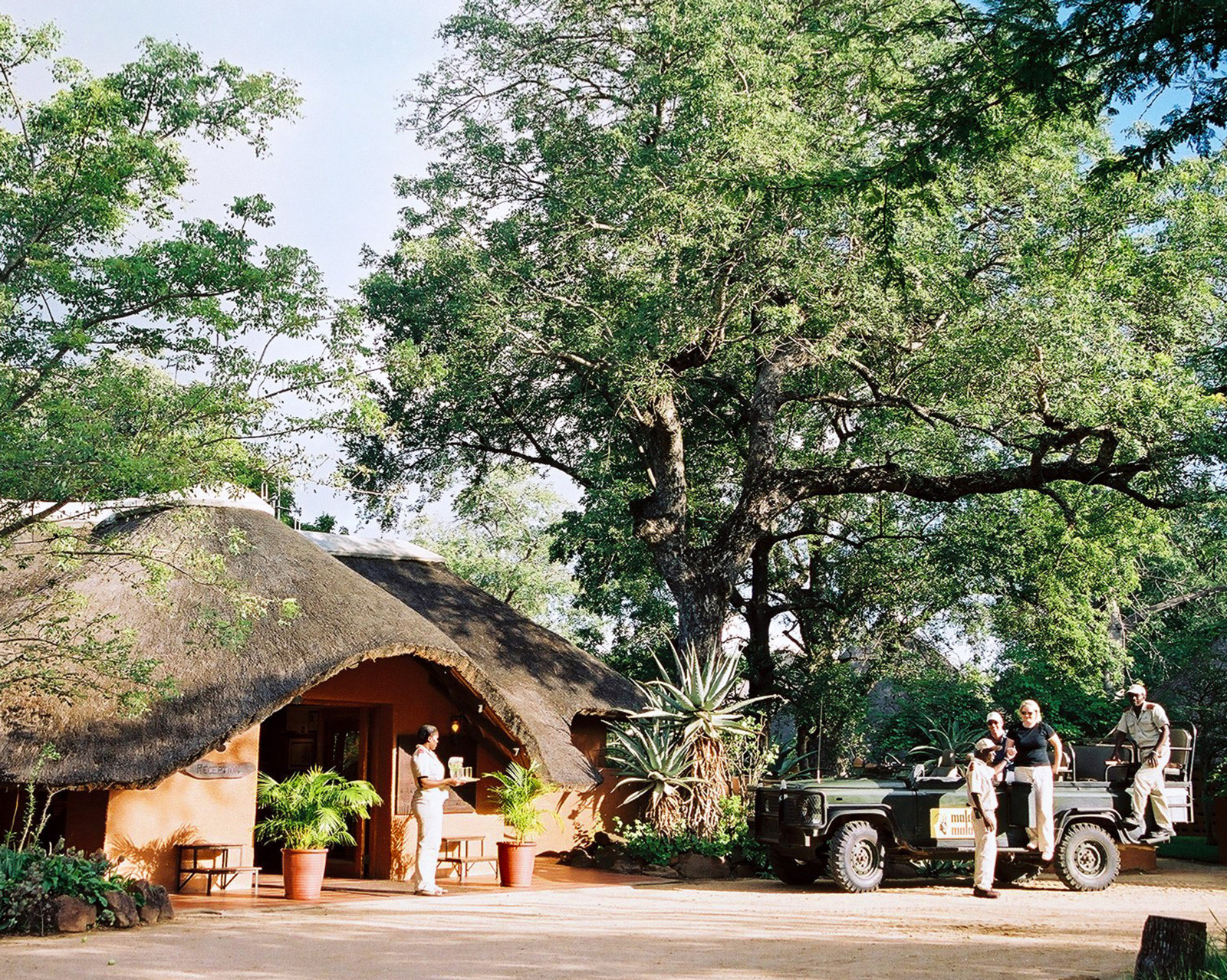 MalaMala Main Camp Game Drive Welcome
