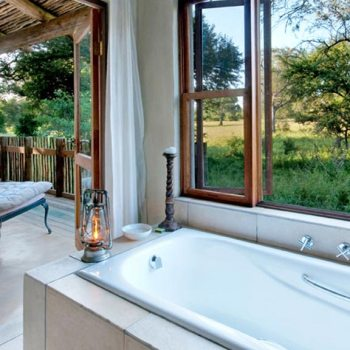 Notten's Bush Camp Accommodation Bathroom View