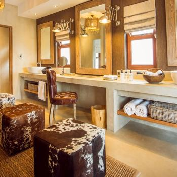 Sabi Sabi Earth Lodge Bathroom