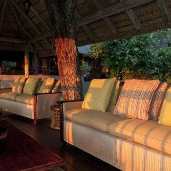 Sabi Sabi Selati Camp Accommodation Deck Lounge