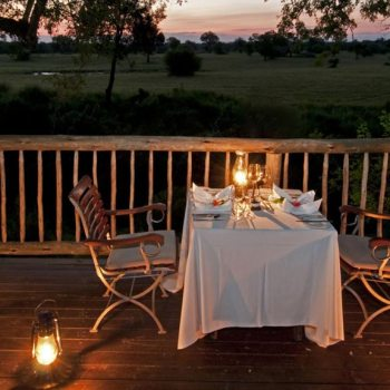 Sabi Sabi Selati Camp Accommodation  Private Dinner