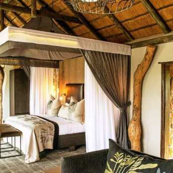 Leopard Hills Private Game Reserve Large and Spacious Suite Interior