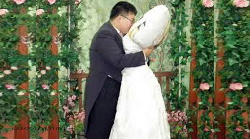 Marriage-with-pillow