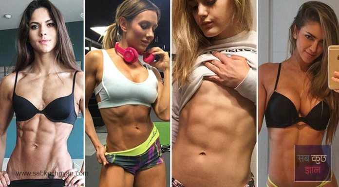 girl abs, diet plan, fat burn, ball exercise, cycling at zym, more water
