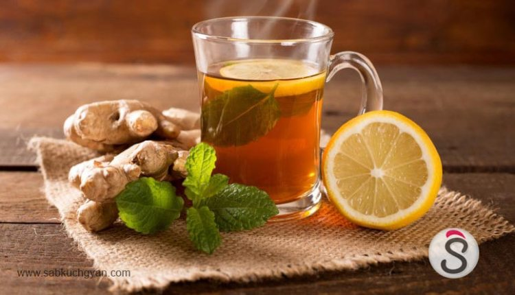 Lemon tea is beneficial to increase fitness and hunger (1)