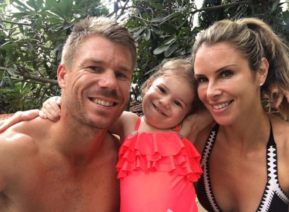 Australian cricketer David Warner's wife is no less than a Hollywood actress