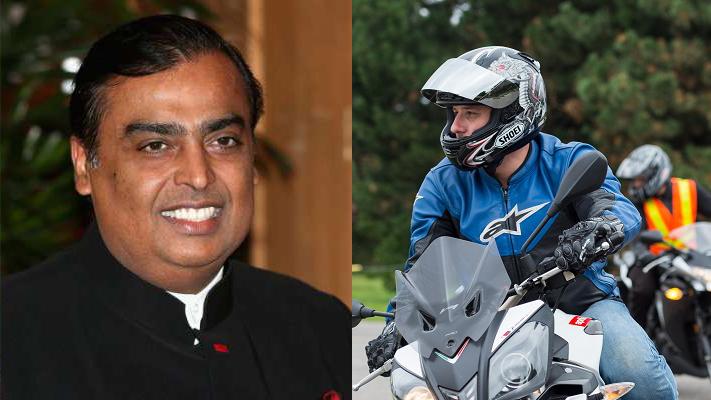 Gift of 38000 rupees to motorcyclists found by Mukesh Ambani reliance suraksha kawach (1)