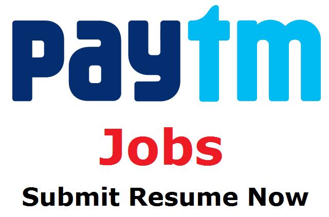 paytm recruitment 2018